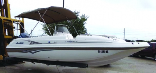 2006 21' HURRICANE FUNDECK GS 211 OB
