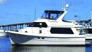 2000 49' HAMPTON 490 PILOTHOUSE