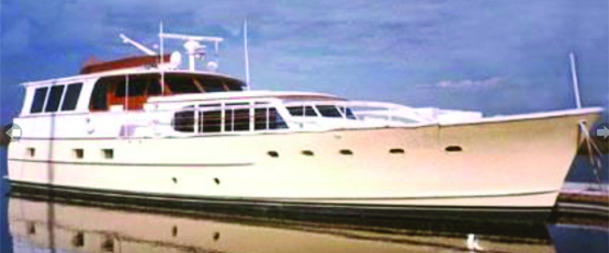 1961 60' BURGER FLUSH DECK MOTORYACHT