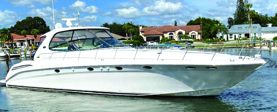 2003 55' SEA RAY 550 SUNDANCER
