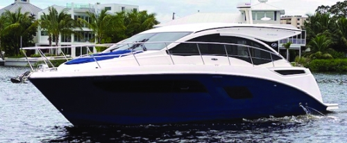2017 40' SEA RAY 400 SUNDANCER