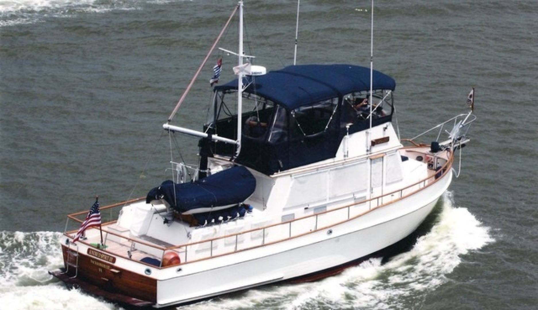 1985 42' Grand Banks 2 stateroom Classic