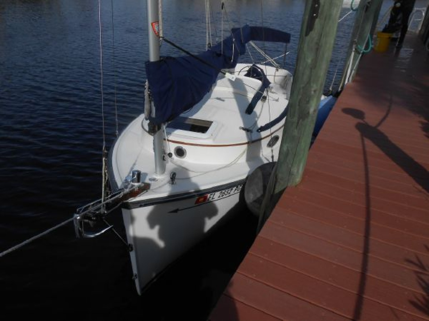 2012 20' Com-Pac Sailboat