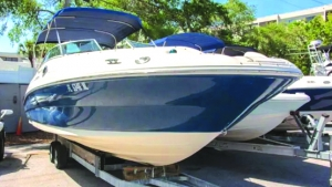 2007 24' SEA RAY 240 SUNDECK