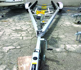 25-27 FOOT ALUMINUM BOAT TRAILER