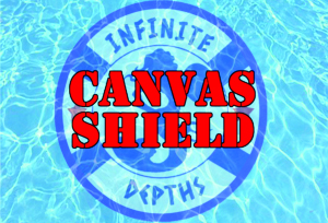 INFINITE DEPHTS CANVAS SHIELD
