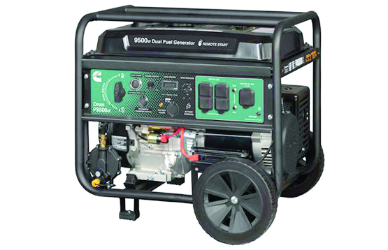 CUMMINS INC 2020 ONAN 9500DF DUAL FUEL PORTABLE GENERATOR