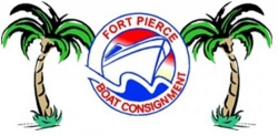 fort pierce boat consignment logo