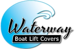 waterway boat lift covers logo